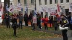 Armenian Montrealers rally