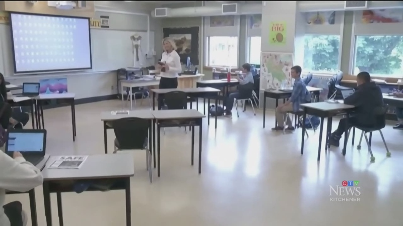Teachers, classes changing at WRDSB schools