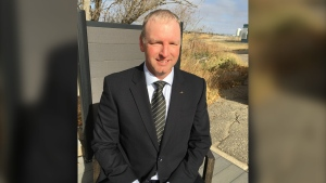 Buffalo Party of Saskatchewan Leader Wade Sira. (Katy Syrota/CTV News Regina)