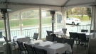 Restaurant fined for enclosed patio tent