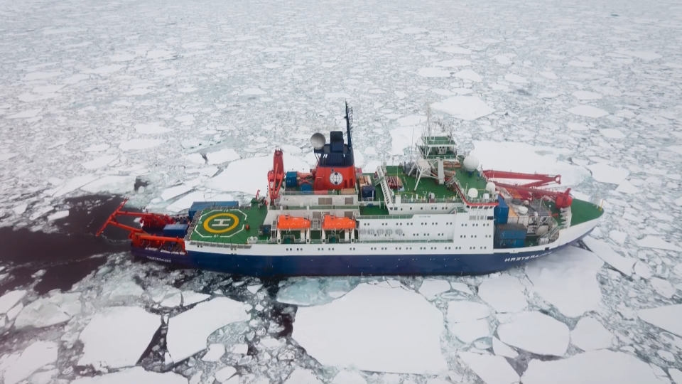 Arctic research expedition