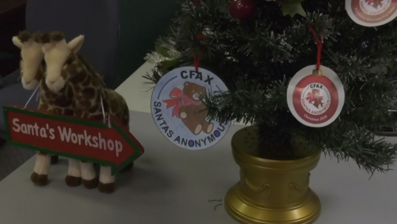 Staff at CFAX Santa's Anonymous say there's more demand for holiday support this year than there has been in the past decade: (CTV News)