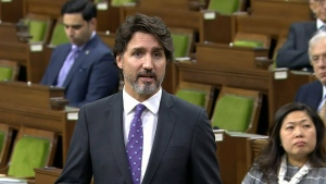 PM Trudeau participates in an emergency debate MPs in the House of Commons into the ongoing dispute between Indigenous and commercial lobster fishers.