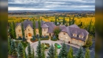 A replica of a French chateau that was built in 2008 just west of Calgary is going to auction in October
