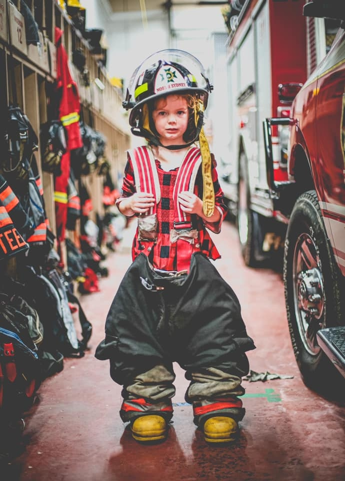 North Sydney Volunteer Fire Department's submission to the 2020 'Fire Hall Photo Campaign' contest put on by AA Munro Insurance. (Photo via: AA Munro Insurance Facebook page)