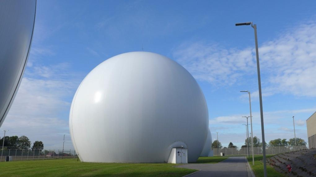 Kester Satellite Ground Station in Kester, Belgium