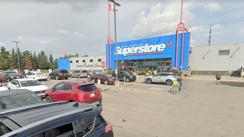An employee at this Superstore at 101 St. Albert Trail has tested positive for COVID-19 (Image source: Google Street View).