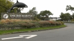 The Oak Bay Marina entrance on Oct. 19, 2020. (CTV News)