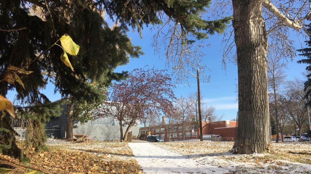 MMIWG park in Edmonton