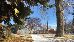 The park will be a place to remember and honour missing and murdered Indigenous women and girls. When complete, the walkway between 90 Street and 95 Street at 121 Avenue in Edmonton will feature a memorial, art installations and benches.