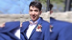 Mark Chaves, 19, died at a home in Cambridge on Saturday night. (Source: Corbett Funeral Home)