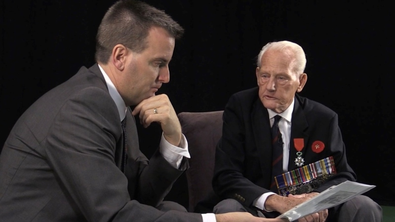 Veteran Pete Schussler speaks with CTV London's Sean Irvine during a 2016 feature interview.