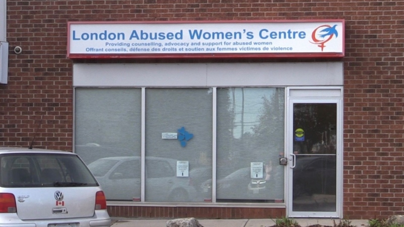 For the month of October, 22 stores in Shoppers Drug Mart stores in the city will be fundraising for the London Abused Women's Centre. (Celine Zadorsky / CTV London)