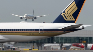 Singapore Airlines' Newark to Singapore route is the longest passenger flight in the world. (Roslan Rahman/AFP/AFP/Getty Images)