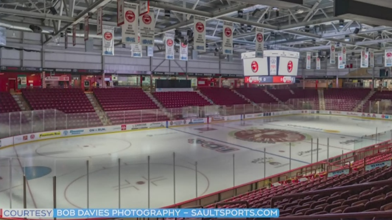 Soo Greyhounds arena in Sault Ste. Marie