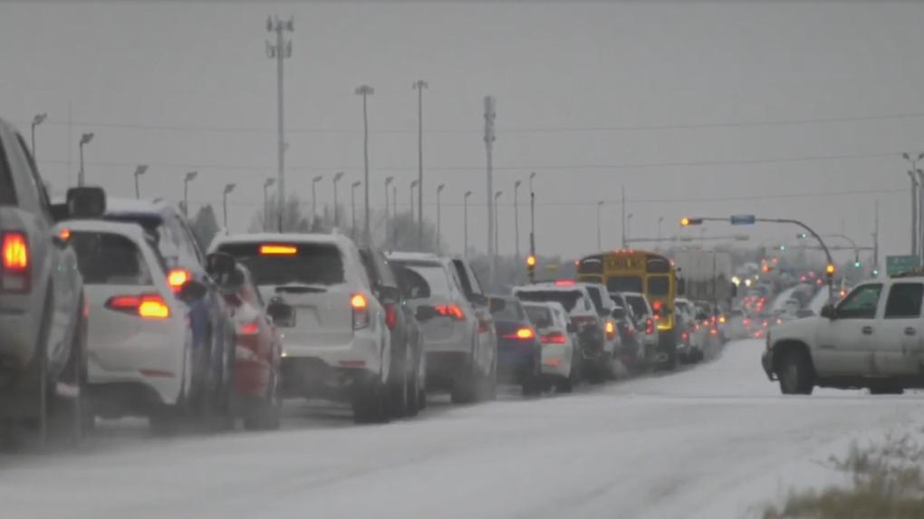 Regina snow traffic