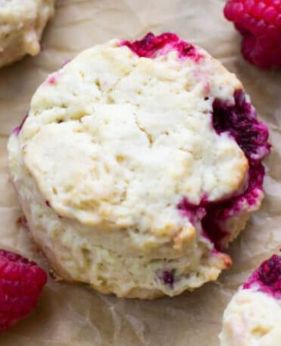 Art-is-In Empress Raspberry Scones