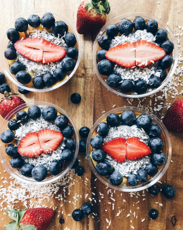 RAW Pulp and Grind Chia Pudding Cups