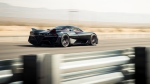 SSC North America announced that its Tuatara hypercar reached an average speed of 508.73 kilometres per hour during two record-breaking dashes outside Las Vegas. (James Lipman / SSC North America / CNN)