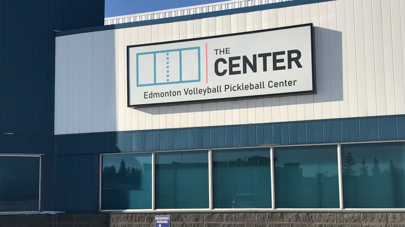 The Edmonton Volleyball and Pickleball Center is aiming to open up at 9455 45 Avenue NW in November 2020.