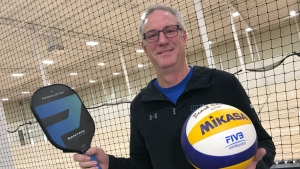 The Edmonton Volleyball and Pickleball Center is aiming to open up at 9455 45 Avenue NW in November 2020. Owner Dave Jones said he and his family expanded their vision for the building to include pickleball after seeing the sport's growth in popularity across North America.