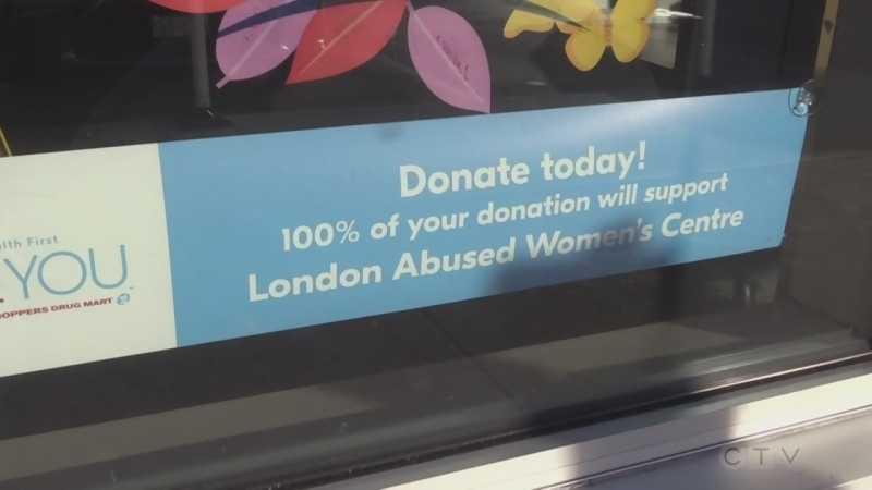 Shoppers Drug Mart begins campaign for London Abused Women's Centre