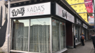 Wilf & Ada's restaurant on Bank Street. The restaurant will be temporarily closed while Ottawa remains under modified Stage 2 restrictions that prohibit indoor dining. (Ian Urbach / CTV News Ottawa)