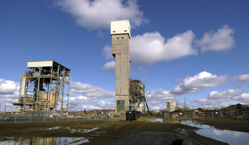 After more than 100 years of operation the iconic headframes and buildings at Stobie Mine will be demolished over the next few months. (Jaime McKee/CTV News)