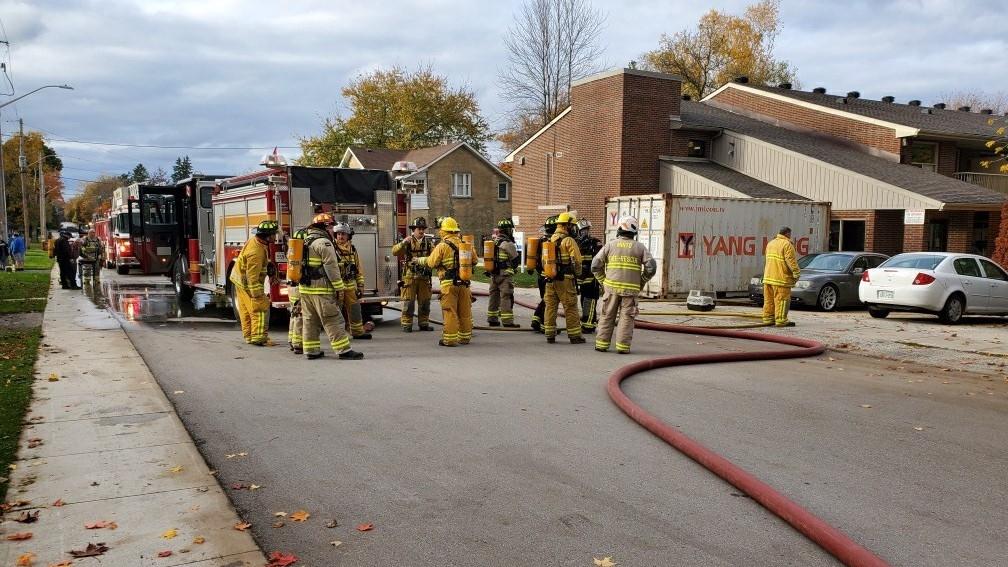Fire in Harriston