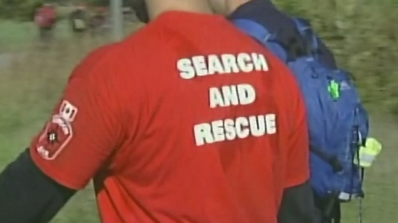 Volunteer group searching for assistance