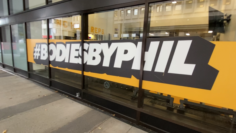 Downtown Ottawa gym Bodies By Phil closed after the city was placed under modified Stage 2 pandemic protocols. Ottawa, ON. October 20, 2020. (Tyler Fleming / CTV Ottawa)