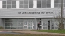 A question that's been a grey cloud hanging over Sir John A. Macdonald High School in Upper Tantallon is about to get more attention: Should the name of the school be changed?