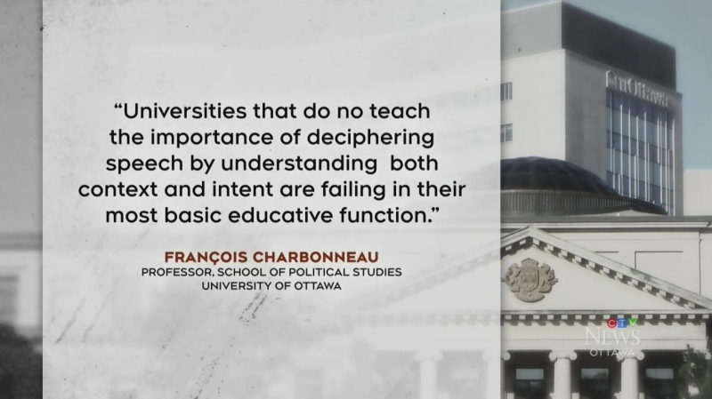 uOttawa defends prof who used racist slur in class