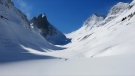 The Robertson Glacier Kananaskis Country. (Kananaskis Public Safety)