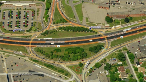 Highway 20 above Dorval Circle closed for several weeks for emergency work