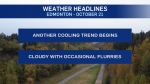Oct. 21 weather headlines