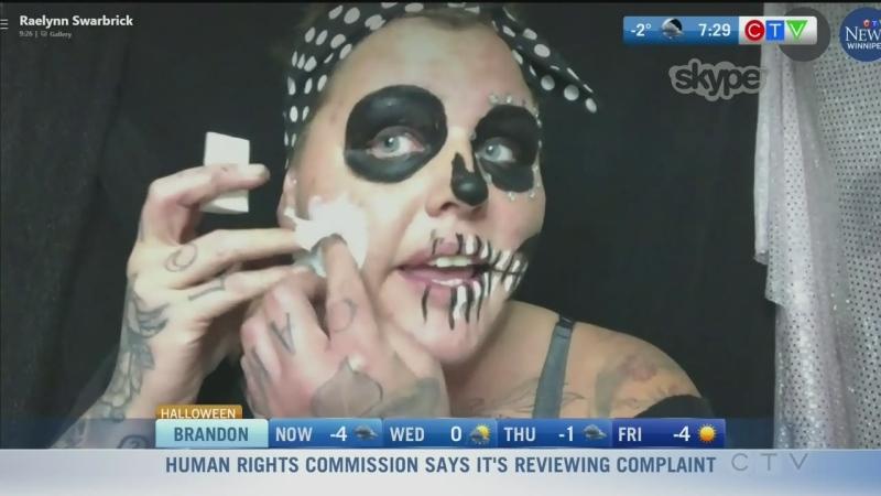 Make-up artist shares easy Halloween looks