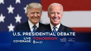 presidential debate tomorrow