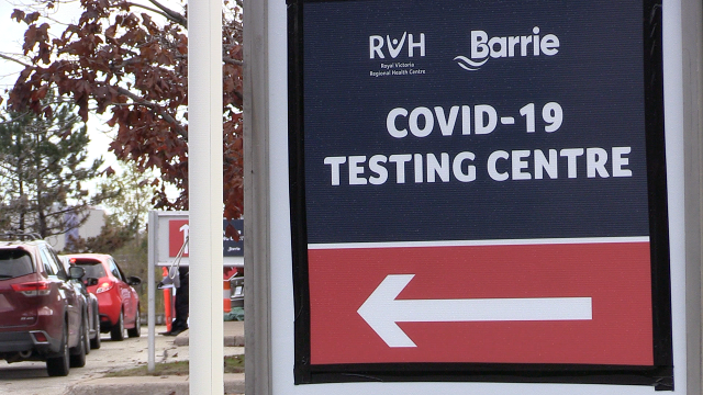 RVH COVID testing clinic