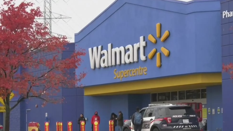 Walmart fires being investigated as arson