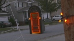 door on wheels comes to you for trick-or-treating