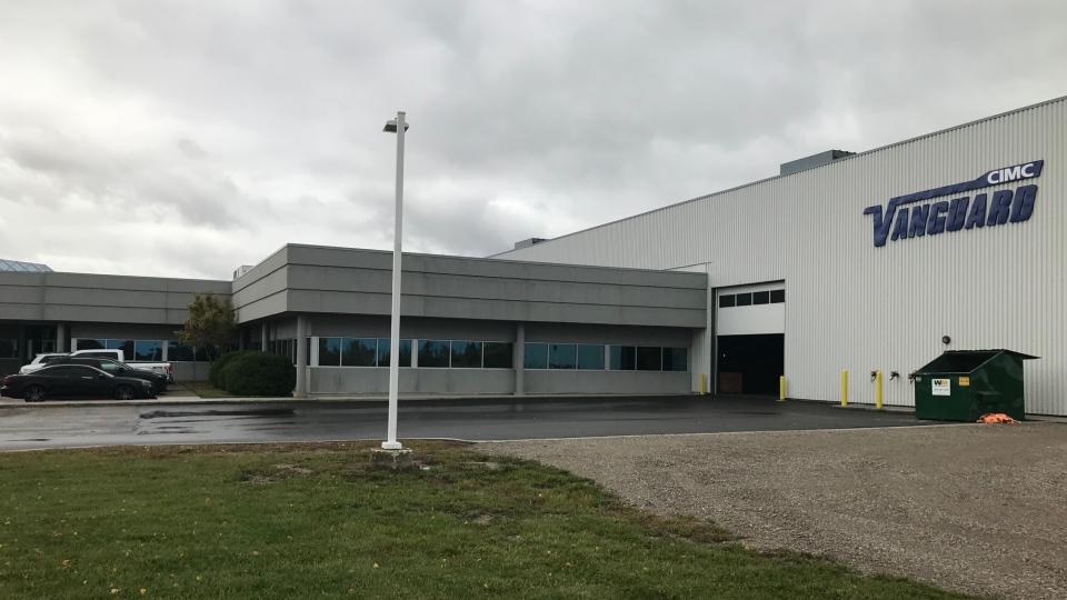 CIMC Vanguard in Sarnia, Ont