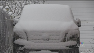 Timmins area wakes up to snow