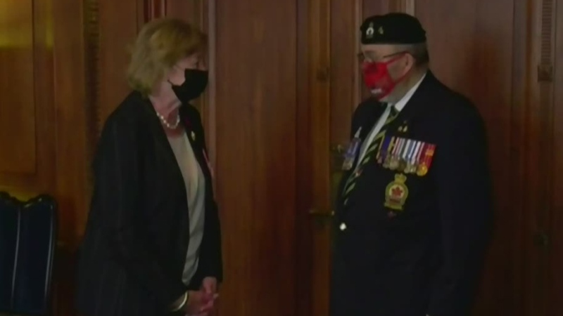 First poppy of 2020 presented in Manitoba
