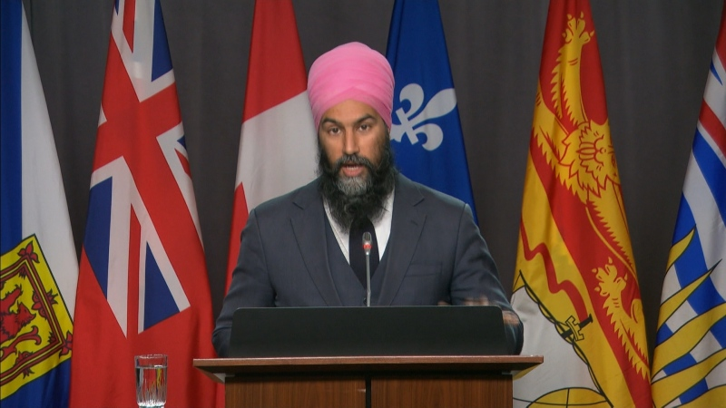 LIVE NOW: Jagmeet Singh on long-term care homes