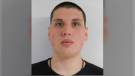 Police say 20-year-old Richard LeClair failed to return to the Parrtown Community Correctional Centre for curfew and is considered unlawfully at large.