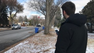 Kellen Hodgins' video of Regina drivers is gaining attention on Tik Tok, (Stefanie Davis / CTV News Regina)