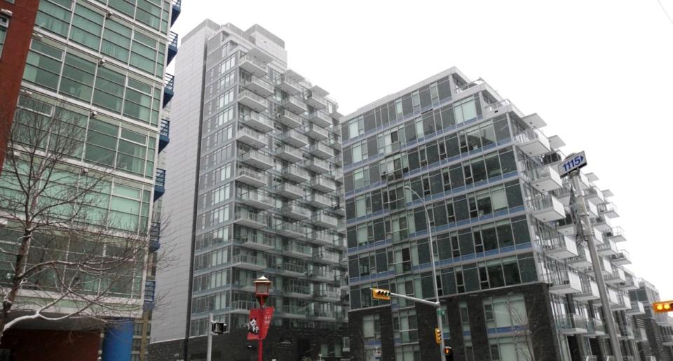 Calgary condo building