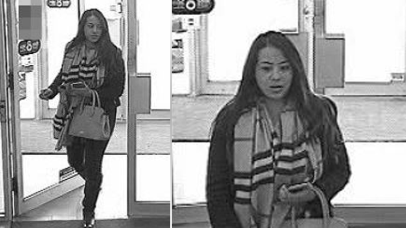 Ottawa Police released bank security camera footage of a suspect in a March 2019 fraud. (Photo courtesy: Ottawa Police)