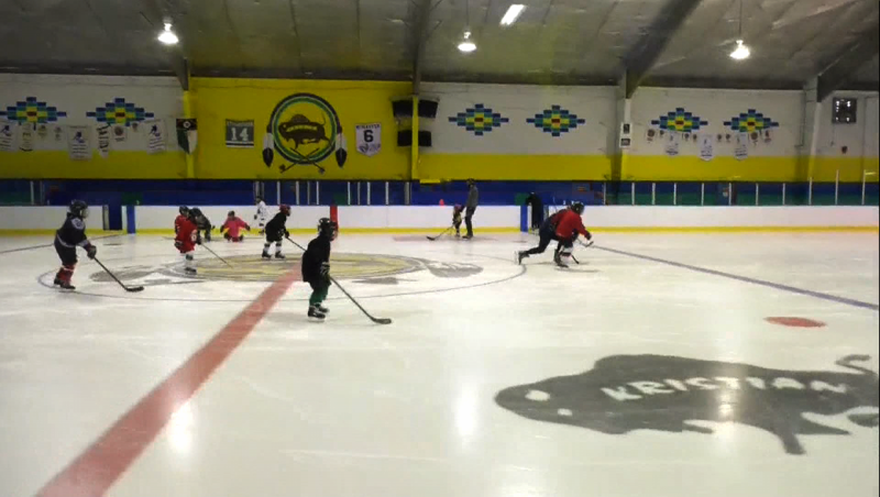 Sports have returned to the Siksika Nation, with a five day power skill hockey camp